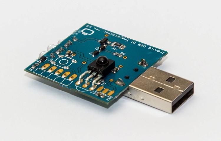 USB IR Transceiver PCB